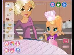 jeux de bébé cuisine avec maman