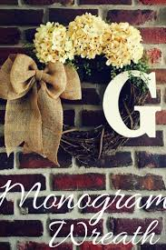 burlap covered letters 79 best wreaths with letters images on pinterest grapevine