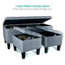 linen storage ottoman bench fascinating bedroom ottoman bench tufted fabric storage ottoman