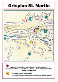 St Martin Map übernachten