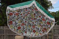 vintage patio umbrella with fringe modern patio u0026 outdoor