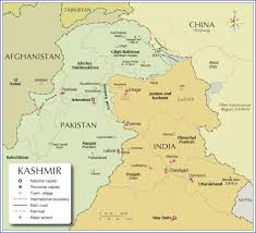 Map Of India And Nepal by Political Map Of Kashmir Region Nations Online Project