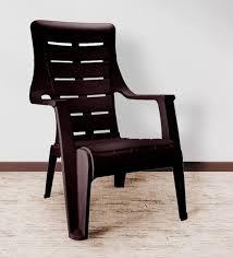 nilkamal kitchen furniture buy sunday chair in brown colour by nilkamal plastic
