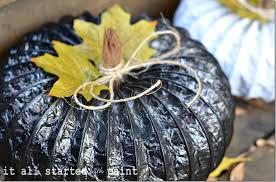 pumpkin black and white pumpkin spray painted pumpkins