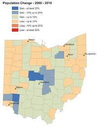 Map Of Northeast Ohio by None Of The Five Fastest Growing Ohio Counties Are In Northeast