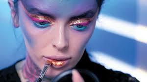 space traveller by belle jackson halloween makeup tutorial youtube