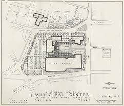 proposals from the bartholomew master plan for dallas u2014 1940s