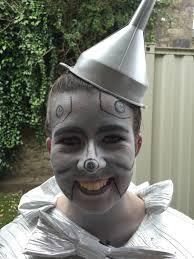 tin halloween decorations tin man wizard of oz face paint dorothy in wonderland