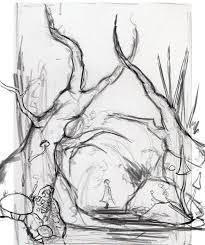 magic forest sketch by lukkar on deviantart