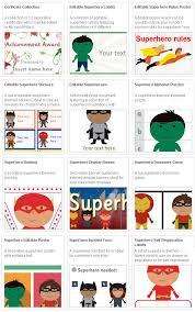 360 super heros printables images super heros