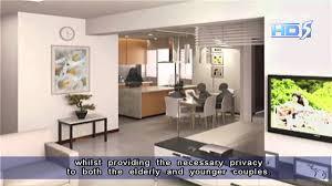 khaw boon wan 3gen flat layout sensitive to needs of 2 families