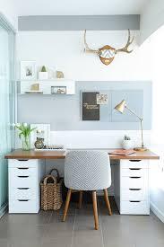 inspiration bureau ambiance scandinave et couleurs pastels bleu un combo idéal pour ce