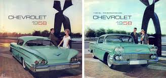 chevy vega green 1958 chevy brochure chevrolet car brochures pinterest