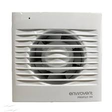 pro100p low profile 100mm extractor fan with pull cord for
