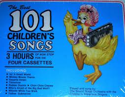 the best 101 children s songs 9780943351285 books