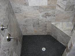 image result for black river shower floor guest bath tile