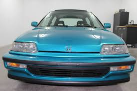 honda civic hatchback 1991 teal for sale 2hged7361mh008677 very