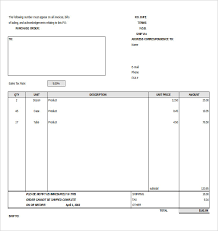 Po Template Excel Purchase Order Template Free Templates Free Premium Templates