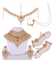 jewelry designs necklace sets images Lucky jewellery designer partywear wedding engagement necklace jpg