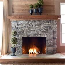 interiors awesome stone gas fireplace painting a stone fireplace