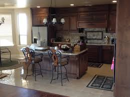 flooring kitchen design with bedrosians tile plus brown cabinets