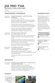 Resume Samples For Designers by Architectural Designer Resume Samples Visualcv Resume Samples