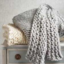 broomstick knitting merino broomstick knit throw frontgate
