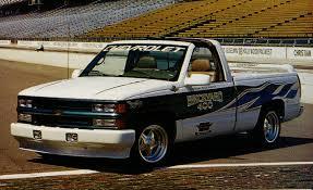 mclaren truck 1996 chevrolet c k vortec v 8 pace truck archived instrumented