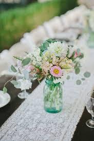 Mason Jar Vases Wedding 108 Best Aqua Ball Jars Images On Pinterest Flowers Blue Mason