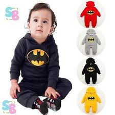 Baby Boy Halloween Costumes 3 6 Months Baby Boys Batman Costume Playsuit Birthday Fancy Dress 0 3
