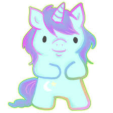 drawn unicorn cute baby pencil and in color drawn unicorn cute baby