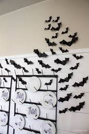 halloween dining room u0026 bat wall diy helloallisonblog com diy