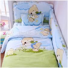 Baby Bedding Set Baby Crib Bedding Set 6 Pcs 100 Cotton Crib Bumper Included