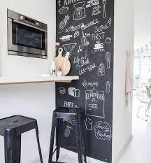 peinturer comptoir de cuisine 1001 idées comment adopter la peinture ardoise dans nos intérieurs