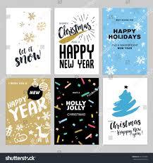 christmas new year flat design greeting stock vector 511942264