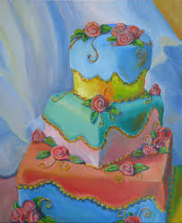 marty barrick fine art fiesta cake