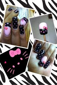 158 best hello kitty nails images on pinterest hello kitty nails
