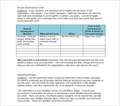 Free Non Profit Business Plan Template by What Are Strategic Plan Template One Page Strategic Plan Template