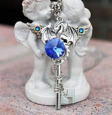 dragon key necklace images Dragon necklace key necklace dragon key dragon jewelry jpg