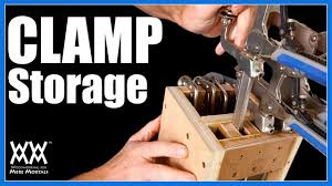 Wood Clamp Storage Rack Plans by Clamp Storage Ideas 4 Clamp Racks For Your Shop Youtube