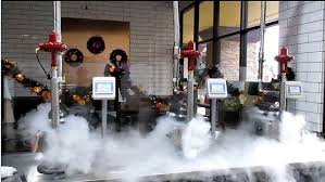 liquid nitrogen ice cream machine automation upgrade