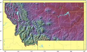 Map Of Montana by I 90 Mt Map U2022 Mapsof Net