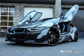 Bmw I8 Wrapped - bmw i8 with 22in savini bm14 wheels exclusively from butler tires