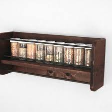 Wooden Spice Rack Wall Handmade Kitchen Island With Spice Rack Dishwasher And Granite