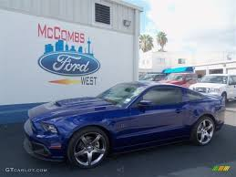 Black Roush Mustang 2013 Deep Impact Blue Metallic Ford Mustang Roush Stage 1 Coupe