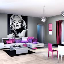 chambre marilyn sticker marylin style baroque