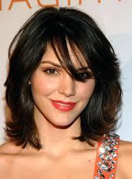 shoulder length hairstyke oval face unique shoulder length haircuts for fine hair and round face