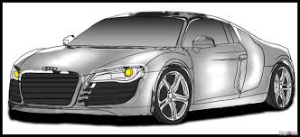 sports car drawing how to draw an audi step by step cars draw cars online