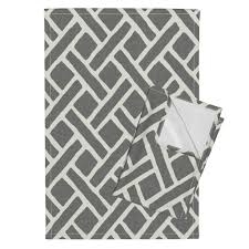 savannah trellis in gray wallpaper by willowlanetextiles