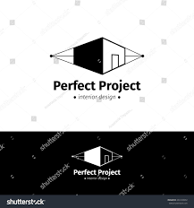 vector modern minimalistic house design logo stock vector